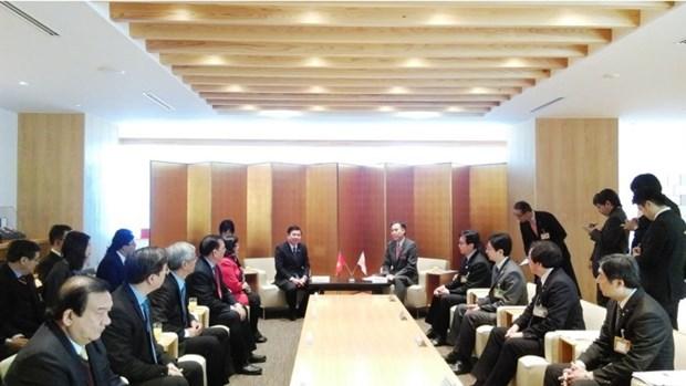 Ho Chi Minh-Ville cherche des opportunites de cooperation a Nagano (Japon) hinh anh 1