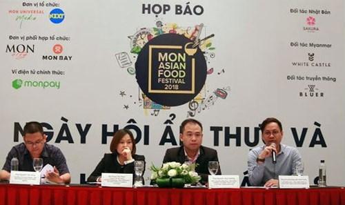 Mon Asian Food Festival 2018 aura lieu a Hanoi et a Quang Ninh hinh anh 1