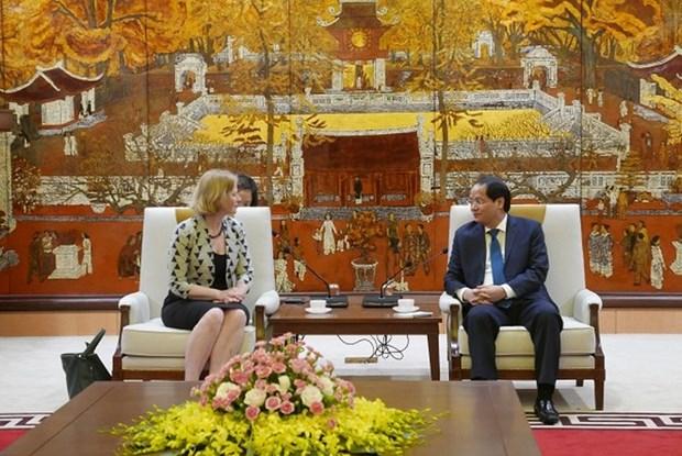 Hanoi souhaite cooperer avec la Nouvelle-Zelande dans la formation des ressources humaines hinh anh 1