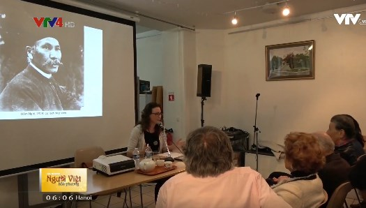 Colloque en France sur les peintures du roi Ham Nghi hinh anh 1