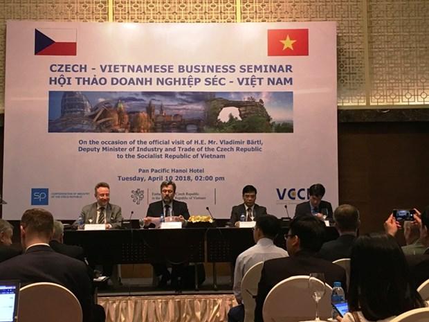 Le Vietnam attire de plus en plus d'entreprises tcheques hinh anh 1