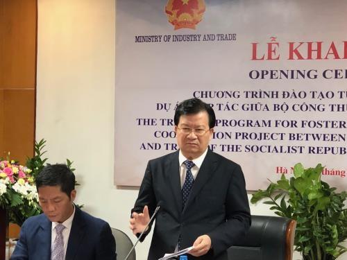 Samsung aide la formation des experts vietnamiens dans l'industrie auxiliaire hinh anh 2