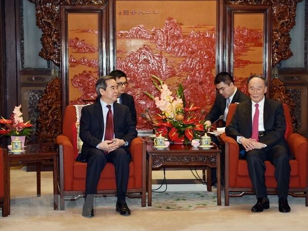 Une delegation du PCV en visite de travail en Chine hinh anh 1