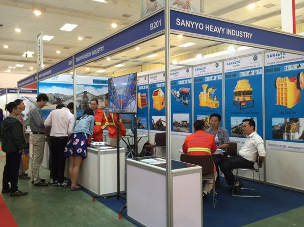 Ouverture de l'exposition Mining Vietnam 2018 a Hanoi hinh anh 1