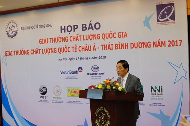 Prix national de la qualite 2017 : 73 entreprises vietnamiennes a l'honneur hinh anh 1