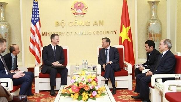 Vers un bel essor des relations Vietnam - Etats-Unis hinh anh 1