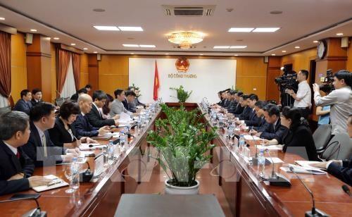 Pour promouvoir les relations commerciales Vietnam-Chine hinh anh 1