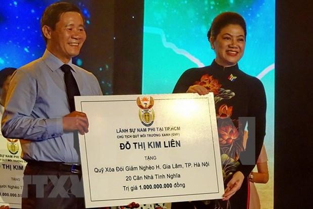 Celebration de la 24e fete nationale de l'Afrique du Sud a Ho Chi Minh-Ville hinh anh 1