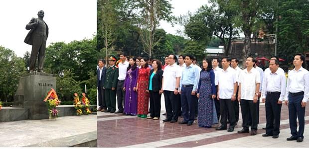 Hanoi: commemoration du 148e anniversaire de la naissance de Lenine hinh anh 1