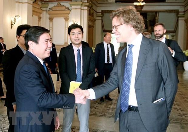 Les entreprises suedoises cherchent des opportunites d'affaires a Ho Chi Minh-Ville hinh anh 1