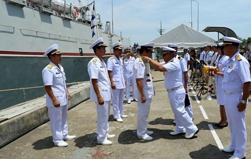 Vietnam et Thailande effectuent une patrouille maritime commune hinh anh 1