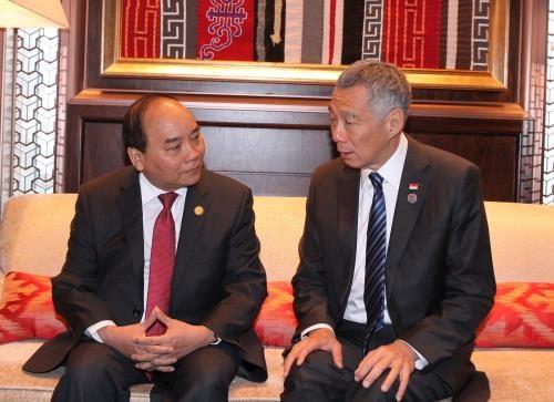 Approfondir le partenariat strategique Vietnam-Singapour hinh anh 1