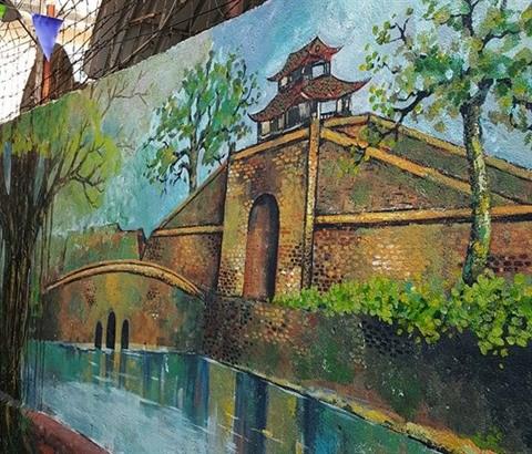 Da Nang: des fresques murales en plein cœur de la ville hinh anh 4