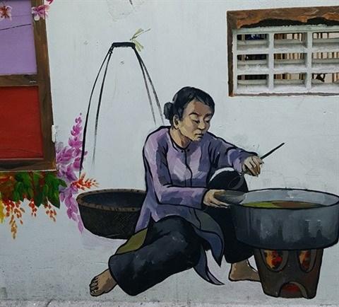 Da Nang: des fresques murales en plein cœur de la ville hinh anh 5
