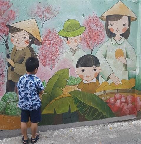 Da Nang: des fresques murales en plein cœur de la ville hinh anh 6