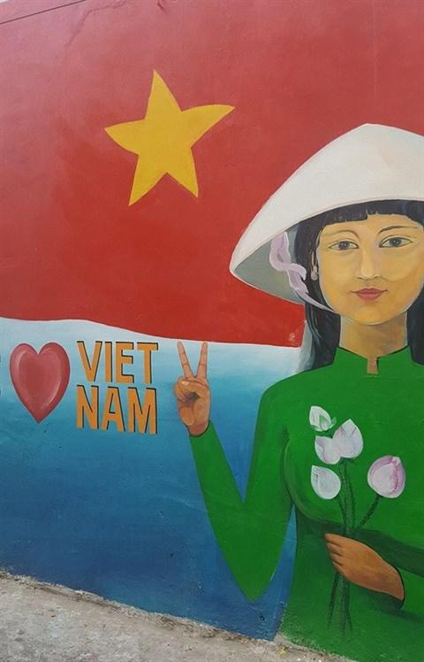 Da Nang: des fresques murales en plein cœur de la ville hinh anh 9