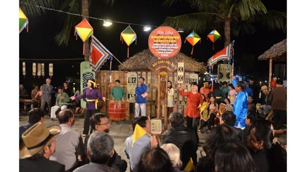Reception du certificat de l'UNESCO pour l'art du « bai choi » hinh anh 1