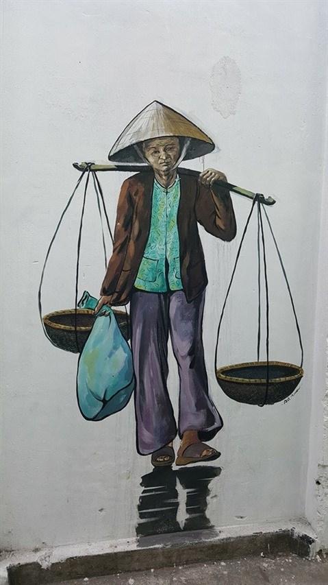 Da Nang: des fresques murales en plein cœur de la ville hinh anh 2