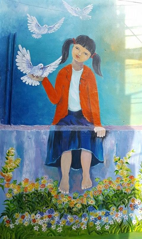 Da Nang: des fresques murales en plein cœur de la ville hinh anh 3
