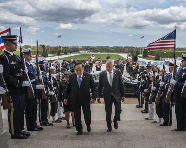 Thailande et Etats-Unis cooperent pour renforcer la securite en Indo-Pacifique hinh anh 1