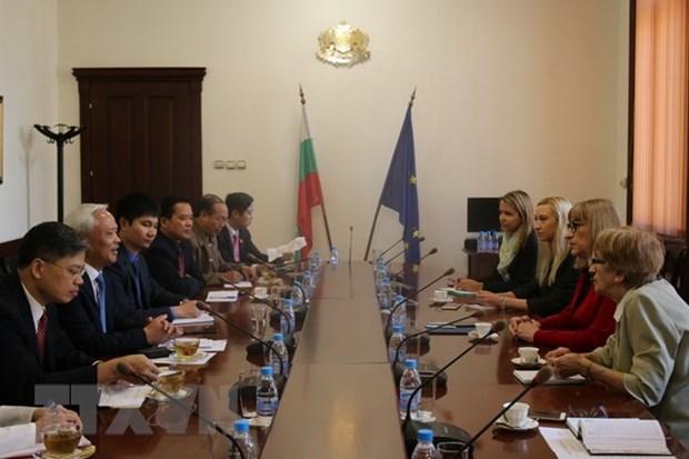 Vietnam et Bulgarie elargissent leur cooperation dans divers domaines hinh anh 1