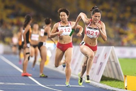 L'athletisme vietnamien travaille a l'apres Nguyen Thi Huyen hinh anh 1