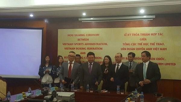 Boxe : Le Vietnam recoit l'aide de la R. de Coree - NDEL hinh anh 1