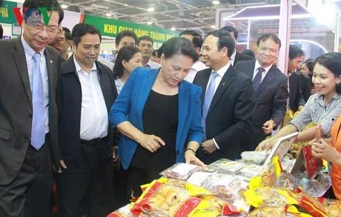 Ouverture de la foire OCOP a Quang Ninh hinh anh 2