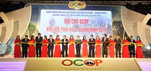 Ouverture de la foire OCOP a Quang Ninh hinh anh 1