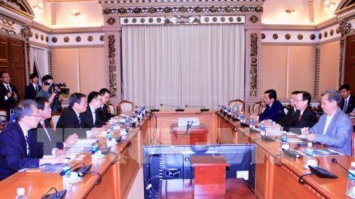 Ho Chi Minh-Ville et la ville japonaise de Sakai cooperent sur les ressources humaines hinh anh 1