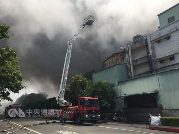 Incendie a Taiwan : Aucune victime vietnamienne n'est a deplorer hinh anh 1