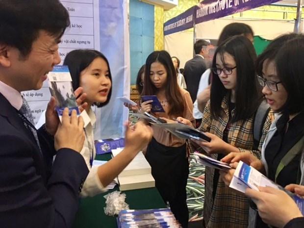 Forum et salon de l'education Vietnam-Chine 2018 a Hanoi hinh anh 1