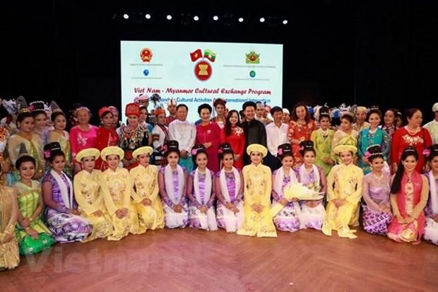 Acceleration de la promotion culturelle du Vietnam au Myanmar hinh anh 1