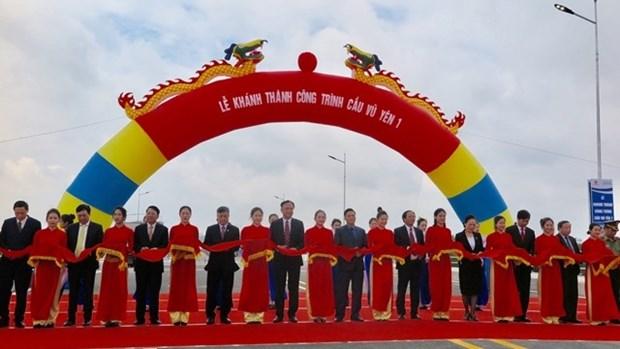 Inauguration du pont Vu Yen 1 a Hai Phong hinh anh 1
