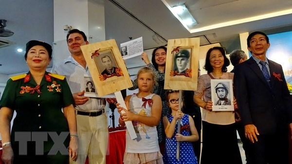 Le 73e anniversaire de la victoire sur le fascisme celebre a Ho Chi Minh-Ville hinh anh 1
