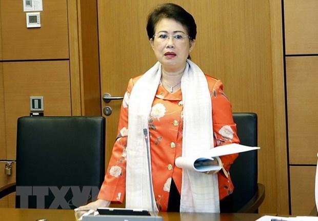 Revocation de la secretaire adjointe du Comite du Parti de Dong Nai Phan Thi My Thanh hinh anh 1