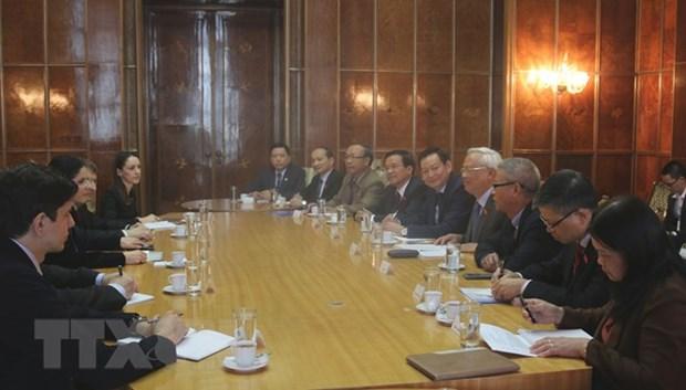 La Roumanie souhaite promouvoir ses relations multiformes avec le Vietnam hinh anh 1