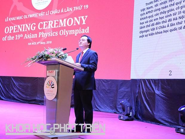 Ouverture des 19es Olympiades de physique d'Asie au Vietnam hinh anh 1