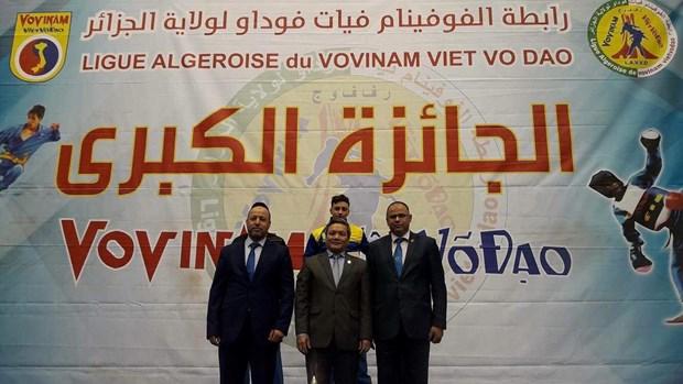 Le premier tournoi Grand Prix - Vovinam Viet Vo Dao en Algerie hinh anh 1
