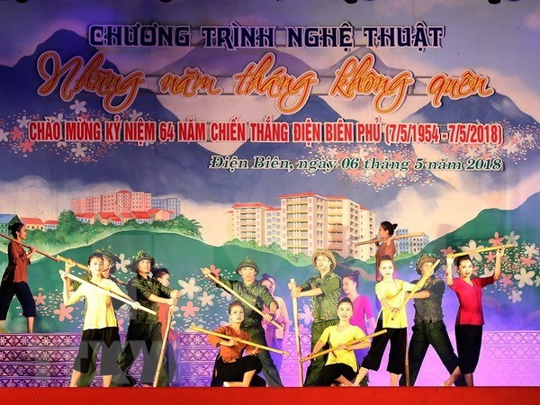 Celebration du 64e anniversaire de la victoire de Dien Bien Phu hinh anh 1