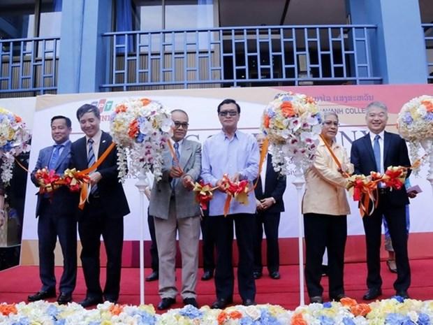 Lancement d'un projet de cooperation entre FPT et le Sengsavanh College (Laos) hinh anh 1