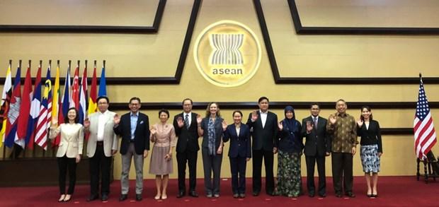 La 9e reunion du Comite de cooperation conjointe ASEAN-Etats-Unis hinh anh 1