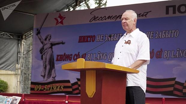 L'action «Regiment immortel», une demonstration de l'amitie Vietnam-Russie hinh anh 3