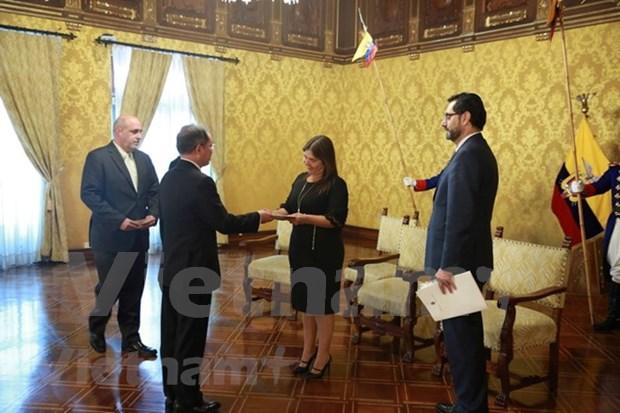 Renforcement de la cooperation multiforme Vietnam-Equateur hinh anh 1