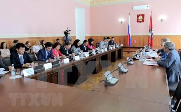 La cooperation Hanoi-Moscou contribue au developpement des relations Vietnam-Russie hinh anh 1