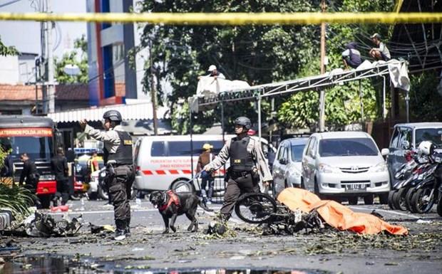 Le Vietnam condamne avec vehemence les attaques terroristes a Surabaya (Indonesie) hinh anh 1