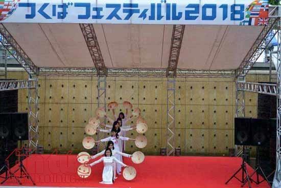 La culture vietnamienne se distingue lors d'une fete d'echange culturel au Japon hinh anh 1
