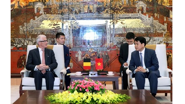 Hanoi et les Flandres cooperent dans l'amenagement urbain et la ville intelligente hinh anh 1
