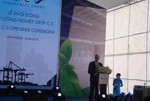 Hai Phong: la zone industrielle Deep C II accueille ses premiers projets d'investissement hinh anh 2