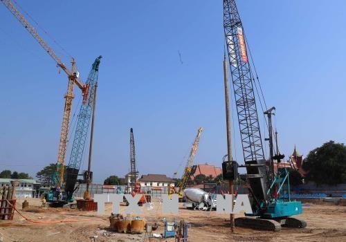 Le Vietnam et le Laos accelerent la construction du siege de l'AN laotienne hinh anh 2